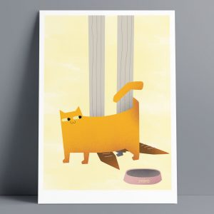 Empty Bowl - A3 Giclee Print