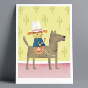 Horsey - A3 Giclee Print