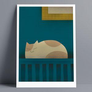 Radiator - A3 Giclee Print
