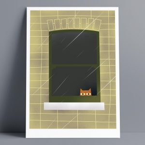 Rainy Day - A3 Giclee Print