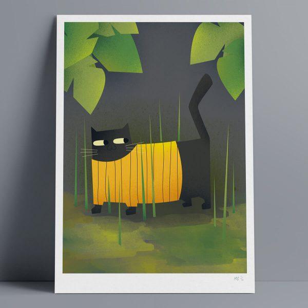 Gus - A3 Giclee Print