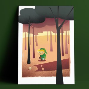 My Name Is Not Zelda - Limited Edition Giclee Print