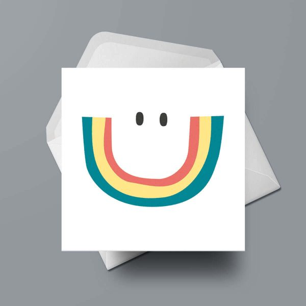 Greetings Card - Smile by Michael Goodson