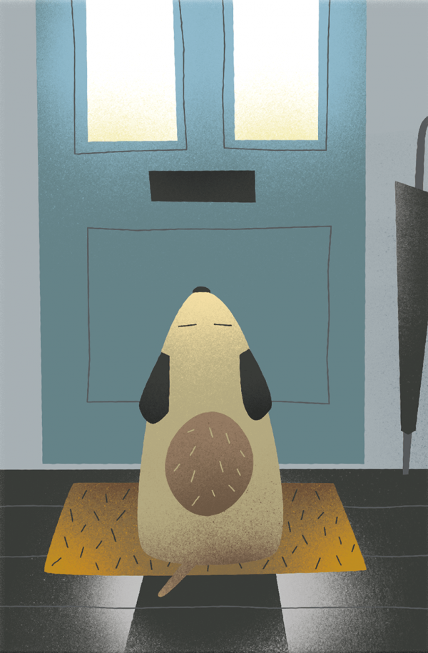 Greetings Card - Waiting by Michael Goodson