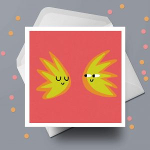 Spark - Greeting Card by Michael Goodson