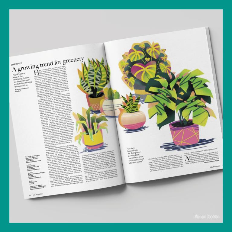 Editorial Illustration - Isle Magazine